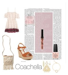 """Inspiration Coachella"" by alice0001 on Polyvore featuring mode, H&M, Hollister Co., Jimmy Choo et OPI"