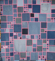 Lucy's Quilts: Denim Quilts