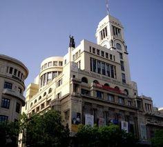 Exposiciones en Madrid : Uno de los emblemas de Madrid, el Circulo de Bella Artes.