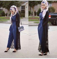 Hijab Fashion 2016/2017:  jumpsuit  Hijab Fashion 2016/2017: Sélection de looks tendances spécial voilées Look Descreption  jumpsuit