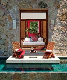 The resort's Casona Jaguar villa.