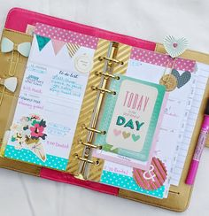 Gold Color Crush Planner:: Anabelle O'Malley