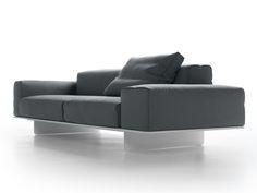 Sculptural reception desk for cypriot furniture brand