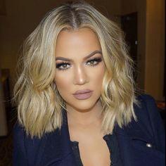 Khloe Kardashian hair