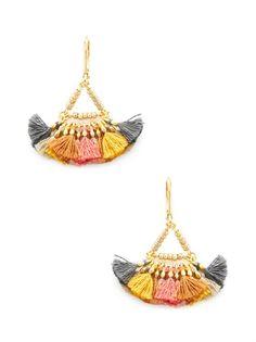 Lilu Drop Earrings Fashion Brands, Crochet Earrings, Drop Earrings, Bling Bling, Fashion Design, Accessories, Jewelry, Jewlery, Bijoux
