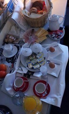 Ontbijtje op de kamer