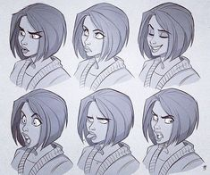 Turns out making these expression-sheets was a great deal of fun, so here's…