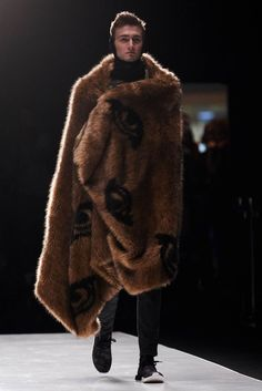H.A.R.D. 3.0 Fall / Winter 2017 - Man in Fur Coat