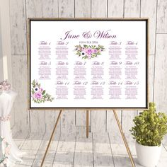 Seating Chart With Mini Tags Per Person Diy Inexpensive Shabby