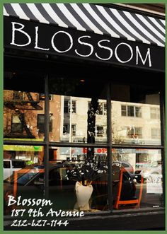 After spending a full day exploring the Chelsea art galleries, I grab dinner at Blossom vegan restaurant in NYC. A little pricey, but really good.