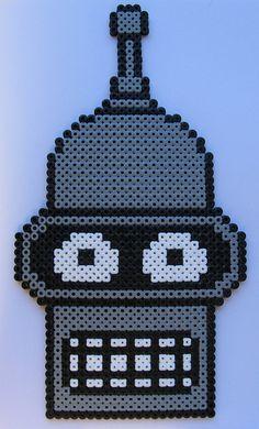 Bender from Futurama - made for Brandon H