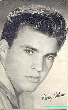 Ricky Nelson arcade card. These cards were obtained by purchase at Penny Arcades and were most usually sold from a coin operated machine
