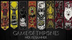 Game of thrones silk cloth #house banner #poster| sizes a4 to a0 uk #seller e182,  View more on the LINK: http://www.zeppy.io/product/gb/2/222377735510/