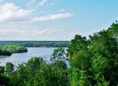 Au Sable River by Kathleen Mendel