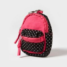 Backpack coin purse. £7.00 from Claire's Accessories.