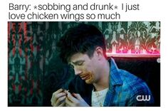 I think I spoiled season Apparently they crack the code for Barry being able to drink and have it affect him. I think I spoiled season Apparently they crack the code for Barry being able to drink and have it affect him. The Flashpoint, Love Memes For Him, Flash Funny, Dc Comics, Flash Barry Allen, Flash Wallpaper, Funny Quotes, Funny Memes, Hilarious