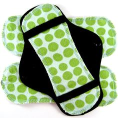 Cloth menstrual pads with hemp inserts. #Etsy $10.75