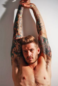 Mod Boys: 52 barbudos tatuados