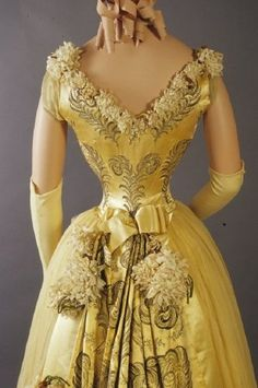 Evening Dress | ca. 1892 | French | Kent State