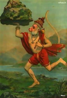 Hanuman Lifting Mountain Wallpaper,Wallpapers Of Hanuman,Download Images Of Hanuman