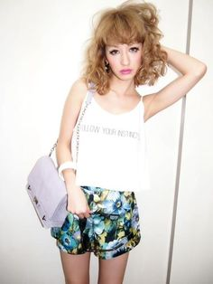 Ima - Gyaru Fashion and Beauty  #gyaru #EMODA #Fashion