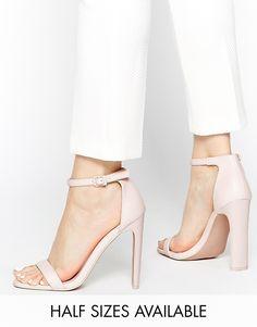 0582ab363c29 ASOS HAMPTON Heeled Sandals at asos.com