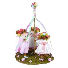 May Day, miniatures, mouse collectible