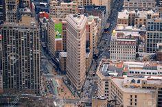 Stock Photo - NEW YORK CITY, NY, USA - MAR 30: Flatiron Building was designed by Chicago's Daniel Burnham and was designated a New York City landmark in ...