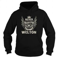 WELTON W - #champion hoodies #custom sweatshirt. GET YOURS => https://www.sunfrog.com/LifeStyle/WELTON-W-Black-Hoodie.html?id=60505