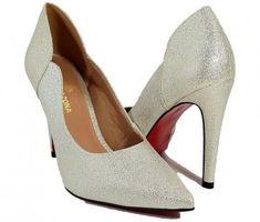 8525464e3 Sapato Scarpin Feminino Salto Alto Dourado Ouro Dom Amazona C31 - Dom  amazona