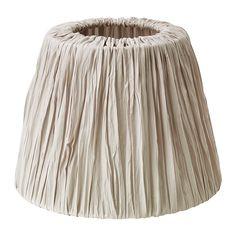IKEA - HEMSTA, Abat-jour, Abat-jour en tissu qui procure un éclairage diffus et décoratif.Abat-jour facile d'entretien car le tissu est lavable à la machine.