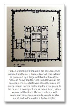 Palacio de Ujaydir, cerca de Bagdag. Abasí. s.VIII