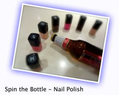 Party Game: Spin the Bottle Nail Polish Sleepover Party Games, Girl Sleepover, Kids Party Games, Slumber Parties, Fun Games, Games For Kids, Activities For Kids, Parties Kids, Birthday Parties