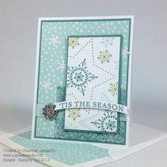 Many Merry Stars - Freshly Made Sketches 162 Created by Shannon Jaramillo www.ezpeasycards.com