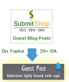 http://www.submitshop.com/guest-blog-posting - Experts #Blogging services from #SEO Company - #penguin #panda