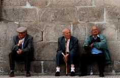 portuguese elderly (an usually image from portugal)