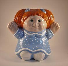 Vintage Ceramic Cabbage Patch Kid Figurine by KitschyKitschyYAYAYE