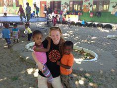 International volunteer! This time, a UBELONG volunteer in South Africa. #VolunteerInSouthAfrica
