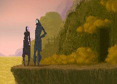Pixelated Underworld by Waneella