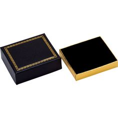 Black Harmony Collection Earring Box...(61-4341:2812610:T).! Price: $79.99 #pendantbox #jewelerybox #jewelery