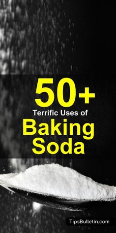 Baking soda is a miraculous product that can be used to clean, bake, and improve your health. Here are 52 amazing baking soda uses that you should try today.