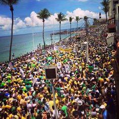 Post  #FALASÉRIO!  : SALVADOR CONTRA O FORO DE SP, CONTRA O COMUNISMO! ...