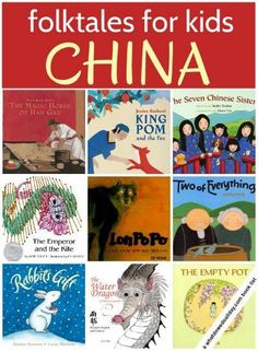 Great books for Asian Pacific Heritage Month! (May) 15 Chinese folktales for…