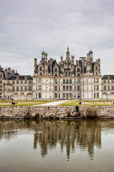 Château de Chambord, l'un des châteaux plus importants de la Val de Loire