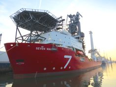 Subsea 7-Seven Waves (Pipe Layer) - Port of Schiedam