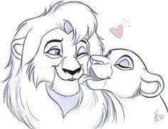 ": "" Kovu And Kiara by Miss-Melis """