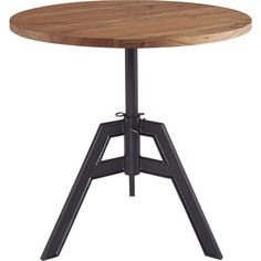 """Coffee table next to couch - family room - 30""""Wx30""""Dx29.5""""H- $549 - alias adjustable bistro table  