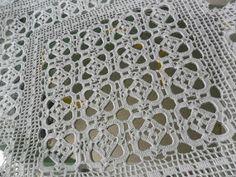 Crochet Doily + Diagrams