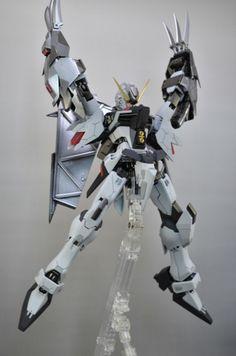 GUNDAM GUY: MG 1/100 Destiny Gundam 'Gray Kill' - Custom Build
