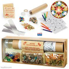 Gemini Nature Kaleidoscope Kit - Toysmith - Pack of 12 kits - Toydoo.com
